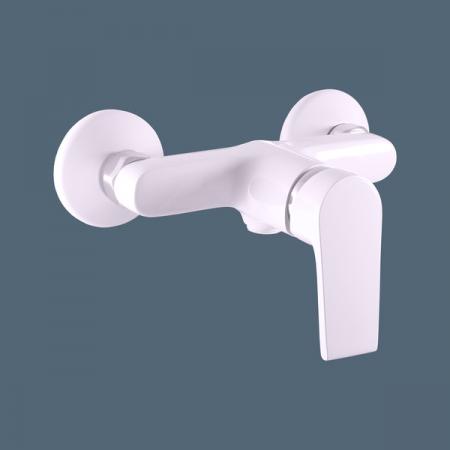 SLEZAK-RAV - Vodovodní baterie sprchová COLORADO bílá/chrom, Barva: bílá/chrom, Rozměr: 150 mm (CO181.5BC)