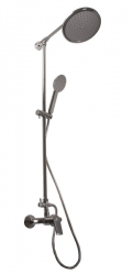 SLEZAK-RAV - Vodovodní baterie sprchová COLORADO s hlavovou a ruční sprchou, Barva: chrom, Rozměr: 100 mm (CO182.0/4)