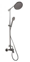 SLEZAK-RAV - Vodovodní baterie sprchová COLORADO s hlavovou a ruční sprchou, Barva: chrom, Rozměr: 150 mm (CO182.5/4)