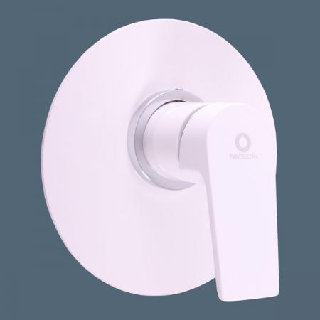 SLEZAK-RAV - Baterie sprchová vestavěná COLORADO bílá/chrom, Barva: bílá/chrom (CO183LBC)