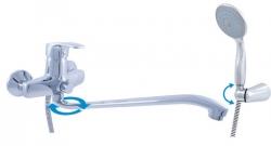 SLEZAK-RAV - Vodovodní baterie pro vanu a umyvadlo KONGO, Barva: chrom (K052.5/2)