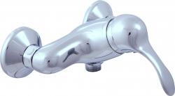 SLEZAK-RAV - Vodovodní baterie sprchová LABE, Barva: chrom, Rozměr: 150 mm (L081.5)