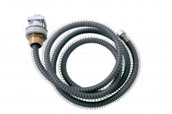 SLEZAK-RAV - Zápustný držák se samonavíjecí hadicí - hranatý, Barva: chrom (MD0555)