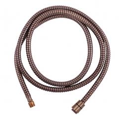 SLEZAK-RAV - Sprchová hadice - 200 cm STARÁ MOSAZ, Barva: stará mosaz, Rozměr: 200 cm (MH0005SM)