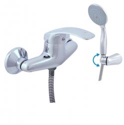 SLEZAK-RAV - Vodovodní baterie sprchová MISSISSIPPI, Barva: chrom, Rozměr: 100 mm (MS080.0/2)