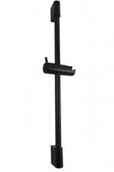 SLEZAK-RAV - Sprchová tyč s posuvným držákem, Barva: černá matná (PD0015CMAT)