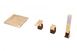 SLEZAK-RAV - Vodovodní baterie vanová , Barva: zlato, Rozměr: 1/2'' (ROYAL1274.5PZ)