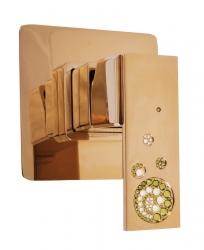 SLEZAK-RAV - Vodovodní baterie sprchová vestavěná , Barva: zlato (ROYAL1383Z)