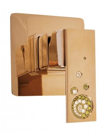 SLEZAK-RAV - Vodovodní baterie sprchová vestavěná , Barva: chrom (ROYAL1483)