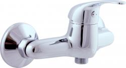 SLEZAK-RAV - Vodovodní baterie sprchová SÁZAVA, Barva: chrom, Rozměr: 100 mm, Typ ručky: SA380.0 (SA380.0)