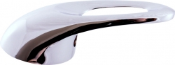 SLEZAK-RAV - Vodovodní baterie dřezová/umyvadlová SÁZAVA, Barva: chrom, Rozměr: 100 mm, Typ ručky: SA501.0/23 (SA501.0/23), fotografie 2/2