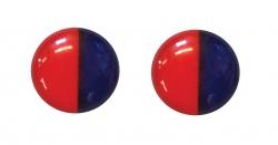 SLEZAK-RAV - Značení na ručku, Barva: plast - červená/modrá - 2 ks (SK0017)
