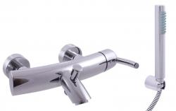 SLEZAK-RAV - Vodovodní baterie vanová VOLGA, Barva: chrom, Rozměr: 150 mm (VG154.5/1)