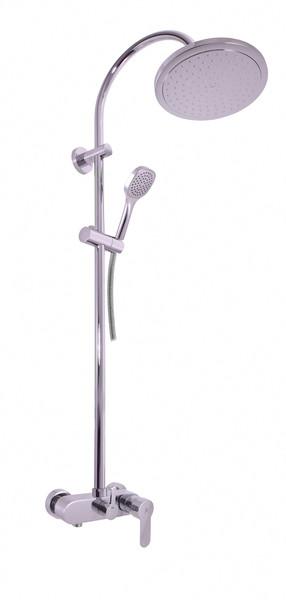 SLEZAK-RAV - Vodovodné batérie sprchová ZAMBEZI s hlavovou a ručnou sprchou, Farba: chróm, Rozmer: 150 mm ZA082.5 / 3