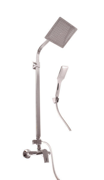 SLEZAK-RAV - Vodovodné batérie sprchová COLORADO s hlavovou a ručnou sprchou, Farba: chróm, Rozmer: 100 mm CO182.0 / 6