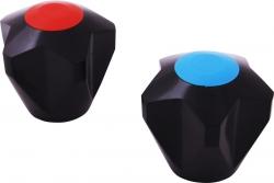 SLEZAK-RAV - Rukojeť vršku, Barva: plast, Rozměr: červená (PR0007Č)