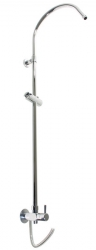 SLEZAK-RAV - Sprchová tyč k nástěnné sprchové nebo vanové baterii, Barva: chrom (SD0110)
