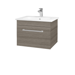 Dreja - Kúpeľňová skriňa ASTON SZZ 60 - D03 Cafe / Úchytka T03 / D03 Cafe (131258C)