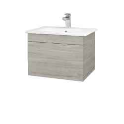 Dreja - Kúpeľňová skriňa ASTON SZZ 60 - D05 Oregon / Úchytka T02 / D05 Oregon (131272B)
