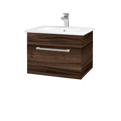 Dreja - Kúpeľňová skriňa ASTON SZZ 60 - D06 Ořech / Úchytka T03 / D06 Ořech (131289C)