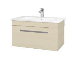 Dreja - Kúpeľňová skriňa ASTON SZZ 80 - D02 Bříza / Úchytka T01 / D02 Bříza (131319A)