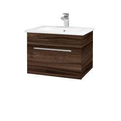 Dreja - Kúpeľňová skriňa ASTON SZZ 60 - D06 Ořech / Úchytka T02 / D06 Ořech (131289B)