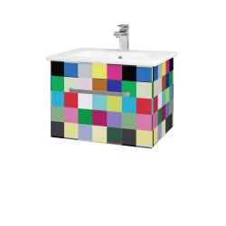 Dreja - Kúpeľňová skriňa ASTON SZZ 60 - IND Individual / Úchytka T01 / IND Individual (149291A)