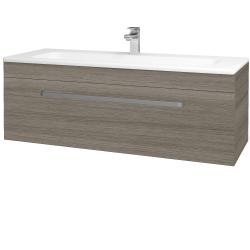 Dreja - Kúpeľňová skriňa ASTON SZZ 120 - D03 Cafe / Úchytka T01 / D03 Cafe (131463A)