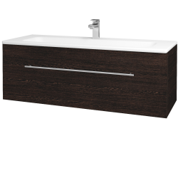 Dreja - Kúpeľňová skriňa ASTON SZZ 120 - D08 Wenge / Úchytka T02 / D08 Wenge (131500B)