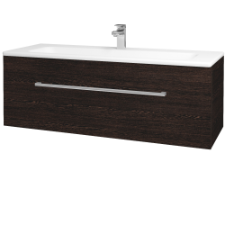 Dreja - Kúpeľňová skriňa ASTON SZZ 120 - D08 Wenge / Úchytka T03 / D08 Wenge (131500C)