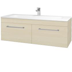 Dreja - Kúpeľňová skriňa ASTON SZZ2 120 - D02 Bříza / Úchytka T03 / D02 Bříza (131524C)