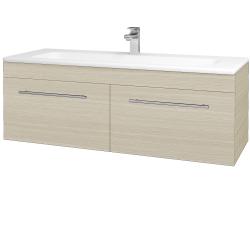 Dreja - Kúpeľňová skriňa ASTON SZZ2 120 - D04 Dub / Úchytka T02 / D04 Dub (131548B)