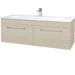 Dreja - Kúpeľňová skriňa ASTON SZZ2 120 - D04 Dub / Úchytka T03 / D04 Dub (131548C)