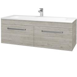 Dreja - Kúpeľňová skriňa ASTON SZZ2 120 - D05 Oregon / Úchytka T01 / D05 Oregon (131555A)
