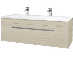 Dreja - Kúpeľňová skriňa ASTON SZZ 120 - D04 Dub / Úchytka T01 / D04 Dub (131470AU)