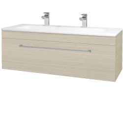 Dreja - Kúpeľňová skriňa ASTON SZZ 120 - D04 Dub / Úchytka T03 / D04 Dub (131470CU)