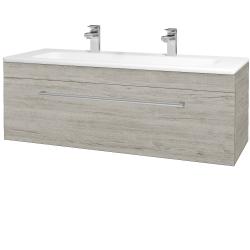 Dreja - Kúpeľňová skriňa ASTON SZZ 120 - D05 Oregon / Úchytka T03 / D05 Oregon (131487CU)