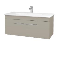 Dreja - Kúpeľňová skriňa ASTON SZZ 100 - M05 Béžová mat / Úchytka T02 / M05 Béžová mat (199937B)