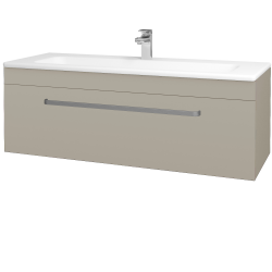 Dreja - Kúpeľňová skriňa ASTON SZZ 120 - M05 Béžová mat / Úchytka T01 / M05 Béžová mat (200091A)