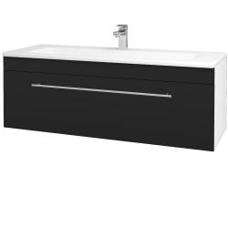 Dreja - Kúpeľňová skriňa ASTON SZZ 120 - N01 Bílá lesk / Úchytka T02 / N08 Cosmo (200176B)