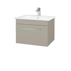 Dreja - Kúpeľňová skriňa ASTON SZZ 60 - L04 Béžová vysoký lesk / Úchytka T04 / L04 Béžová vysoký lesk (108700E)