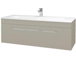 Dreja - Kúpeľňová skriňa ASTON SZZ 120 - L04 Béžová vysoký lesk / Úchytka T04 / L04 Béžová vysoký lesk (109639E)