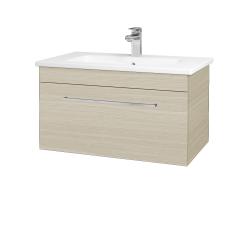 Dreja - Kúpeľňová skriňa ASTON SZZ 80 - D04 Dub / Úchytka T04 / D04 Dub (131333E)