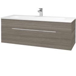 Dreja - Kúpeľňová skriňa ASTON SZZ 120 - D03 Cafe / Úchytka T04 / D03 Cafe (131463E)