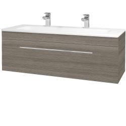 Dreja - Kúpeľňová skriňa ASTON SZZ 120 - D03 Cafe / Úchytka T04 / D03 Cafe (131463EU)