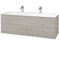 Dreja - Kúpeľňová skriňa ASTON SZZ 120 - D05 Oregon / Úchytka T04 / D05 Oregon (131487EU)