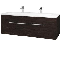 Dreja - Kúpeľňová skriňa ASTON SZZ 120 - D08 Wenge / Úchytka T04 / D08 Wenge (131500EU)
