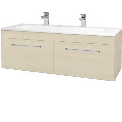 Dreja - Kúpeľňová skriňa ASTON SZZ2 120 - D02 Bříza / Úchytka T04 / D02 Bříza (131524EU)