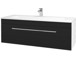 Dreja - Kúpeľňová skriňa ASTON SZZ 120 - N01 Bílá lesk / Úchytka T04 / N08 Cosmo (200176E)
