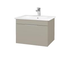 Dreja - Kúpeľňová skriňa ASTON SZZ 60 - L04 Béžová vysoký lesk / Úchytka T05 / L04 Béžová vysoký lesk (108700F)
